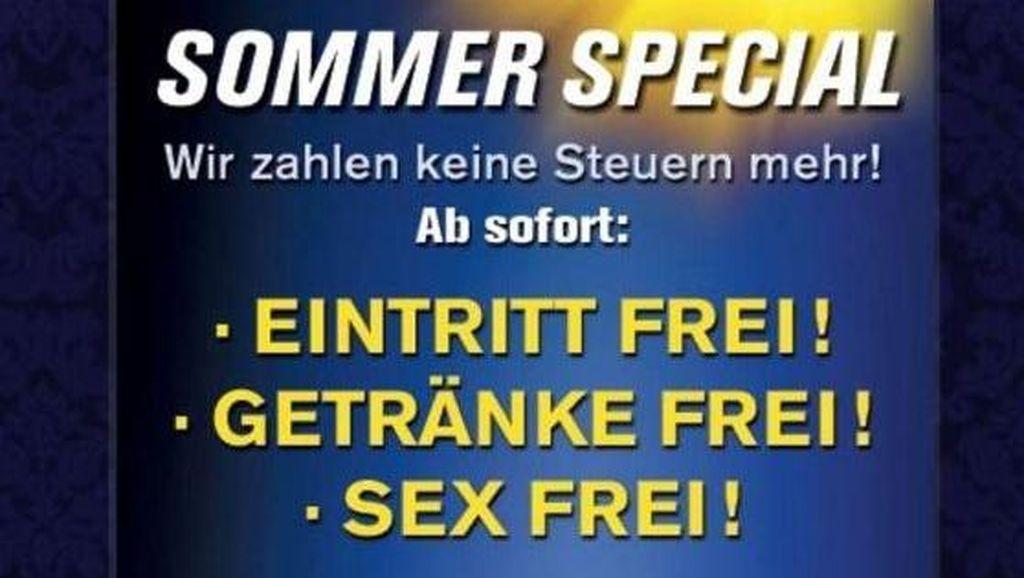 Protes Pajak, Rumah Bordil Austria Tawarkan Jasa Seks Gratis