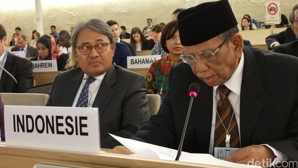 Sidang Dewan HAM PBB: Pancasila Landasan Kerukunan