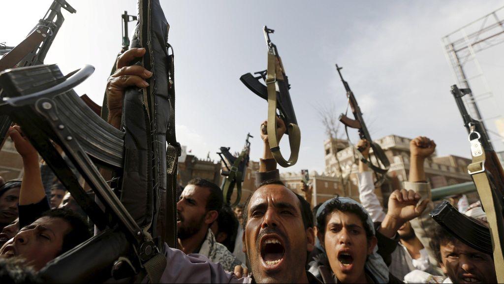 1.200 Tahanan Kabur dari Penjara Yaman