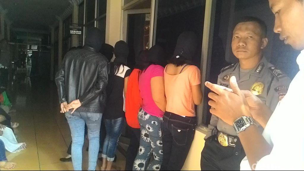 11 Germo dan 22 PSK di Bogor Diciduk Polisi