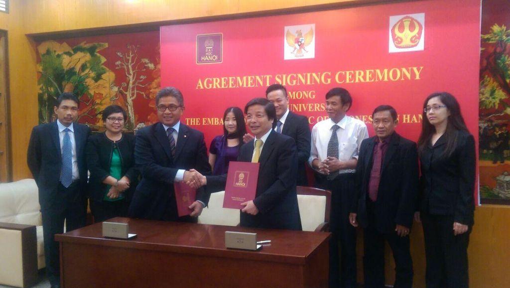 60 Tahun Hubungan RI-Vietnam, Pusat Studi Indonesia Didirikan di Hanoi