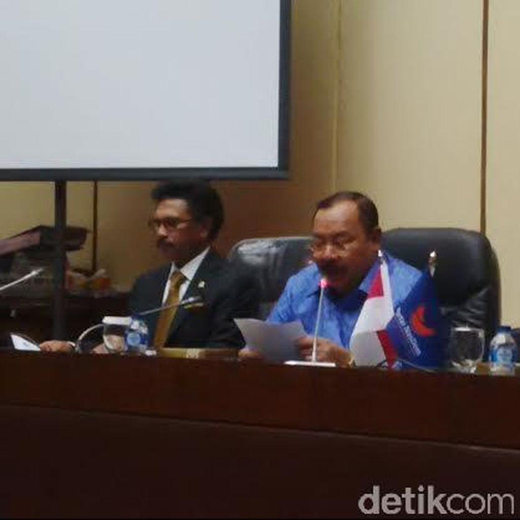 NasDem Yakin Menterinya Tak Berkurang Gara-gara Reshuffle