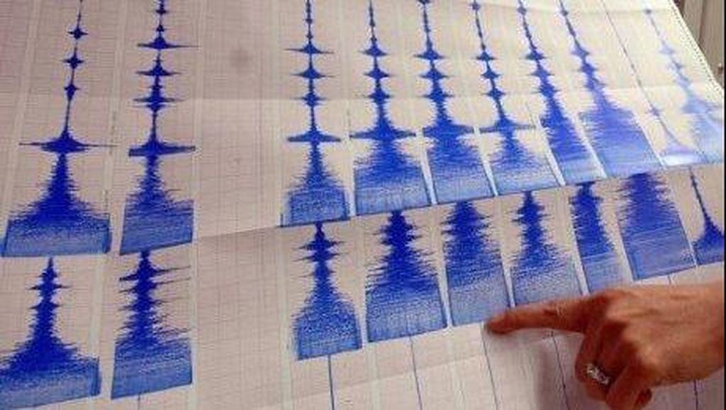 Gempa 5,6 SR Guncang Timur Laut Sulawesi Utara