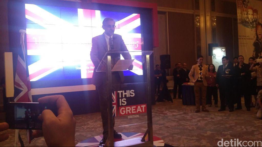 Inggris Akan Lebih Memperdalam Hubungan Bilateral dengan Indonesia