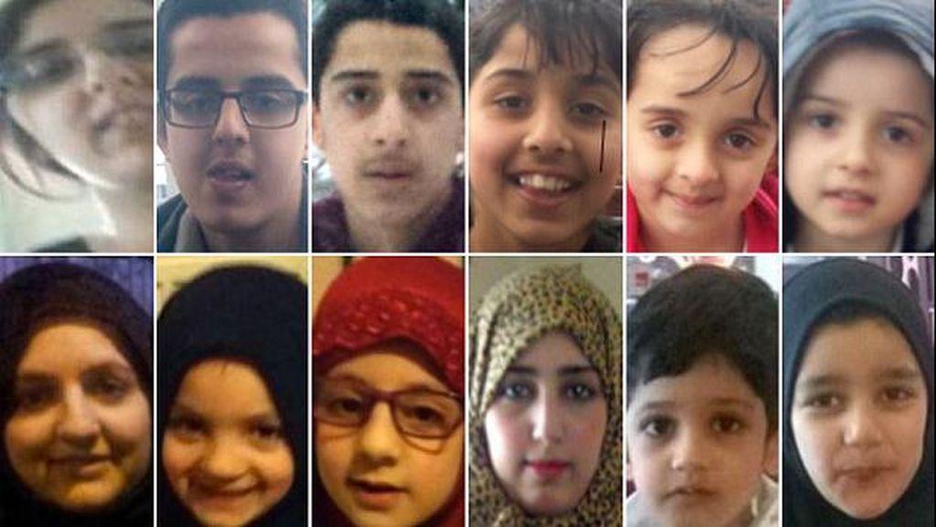 Polisi Inggris Buru 3 Ibu dan 9 Anak Mereka yang Diduga ke Suriah