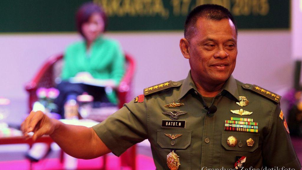 Jenderal Gatot: Saya Tak Kenal Kompromi, NKRI Harga Mati