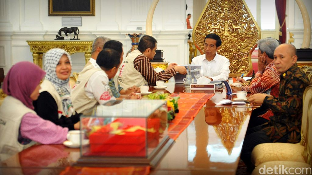 Jokowi Bertemu MER-C di Istana, Bicara Peresmian RS Indonesia di Gaza