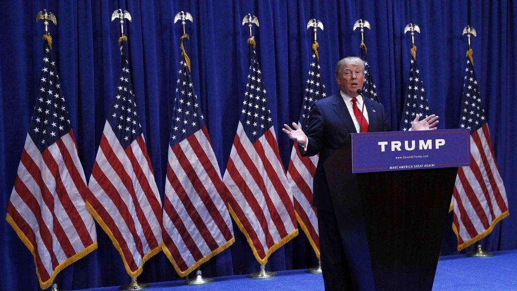 Trump Ejek Wartawan AS Penyandang Disabilitas Saat Kampanye