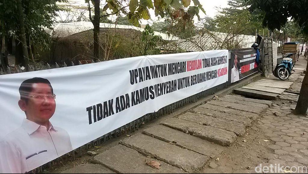 Tiba di Lapas Sukamiskin, Anas Disambut Salawat Para Pendukungnya