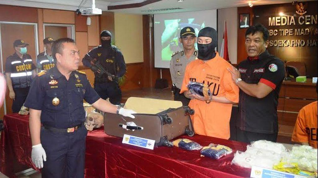 Bea Cukai Soetta Gagalkan Penyelundupan 6 Tengkorak ke Luar Negeri