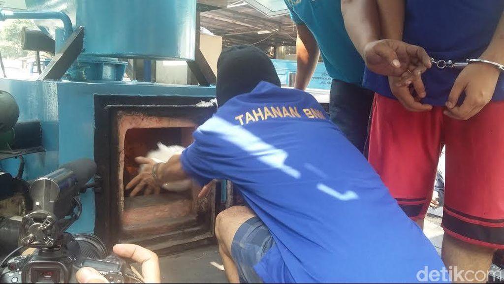 BNN Musnahkan 18 Kg Sabu dan Ratusan Butir Ekstasi