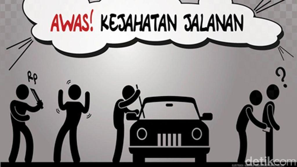 Polisi Buru Komplotan Modus Ban Gembos yang Tembak Mobil Kapolsek Teluknaga