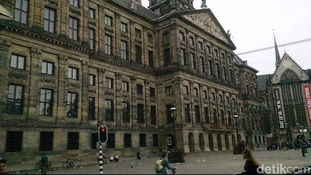 Paleis op de Dam, Istana Tempat Kerajaan Belanda Menjamu Tamu Negara