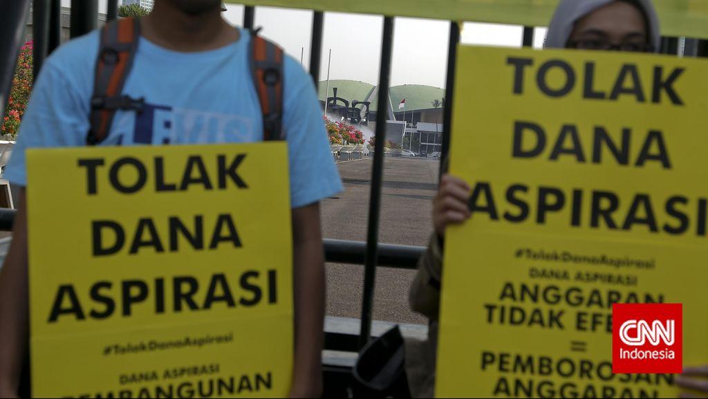 ICW Galang Petisi Tolak Dana Aspirasi DPR