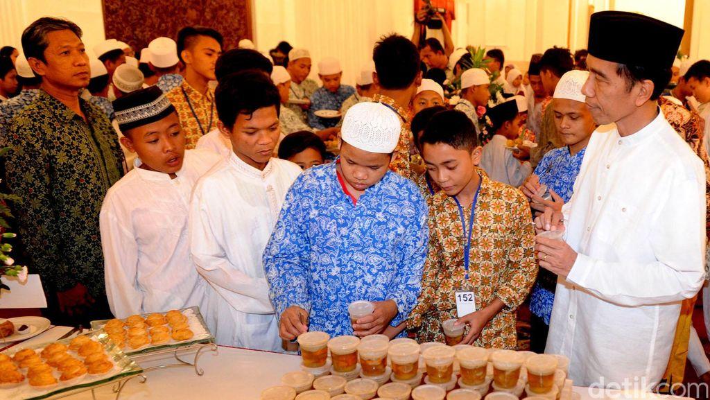Jokowi dan Prabowo Hadir di Buka Bersama Ketua DPR