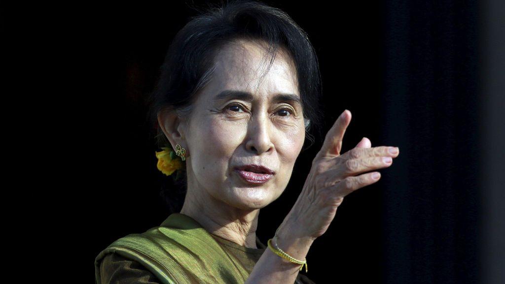 RI Ucapkan Selamat Partai Suu Kyi Menang Pemilu Myanmar