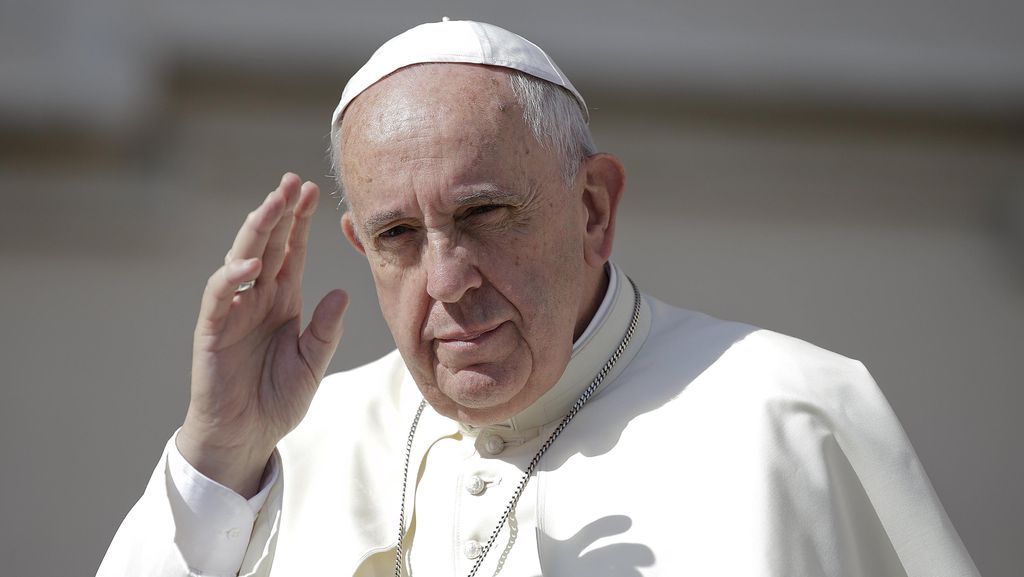 Paus Fransiskus Mendoakan Militan ISIS