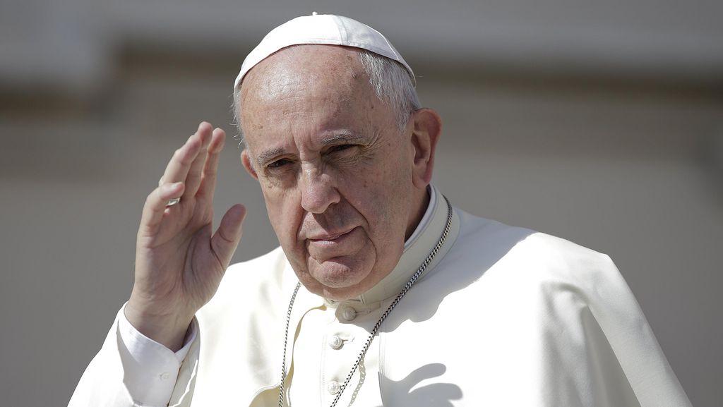 Paus Fransiskus Serukan Negara Eropa Tetap Terima Pencari Suaka