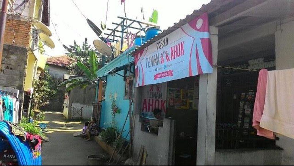 Pendukung Ahok Gerilya Bikin Posko Galang Dukungan untuk Pilgub 2017