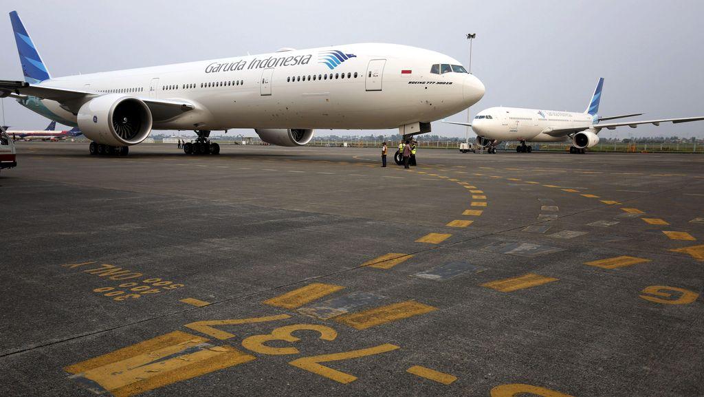 Garuda Indonesia Masih Menghentikan Penerbangan dari dan ke Lombok