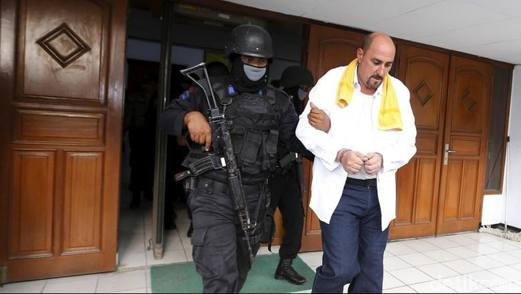 PTUN Putuskan Nasib Gembong Narkoba asal Prancis Hari Ini