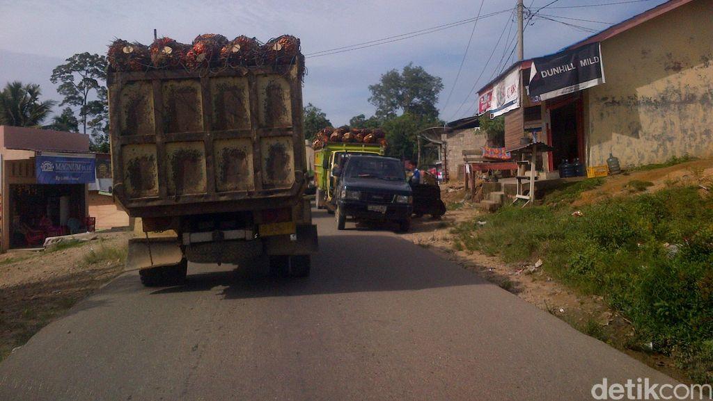 Jalur Mudik Riau, Ini Dia Lokasi  Rawan Longsor