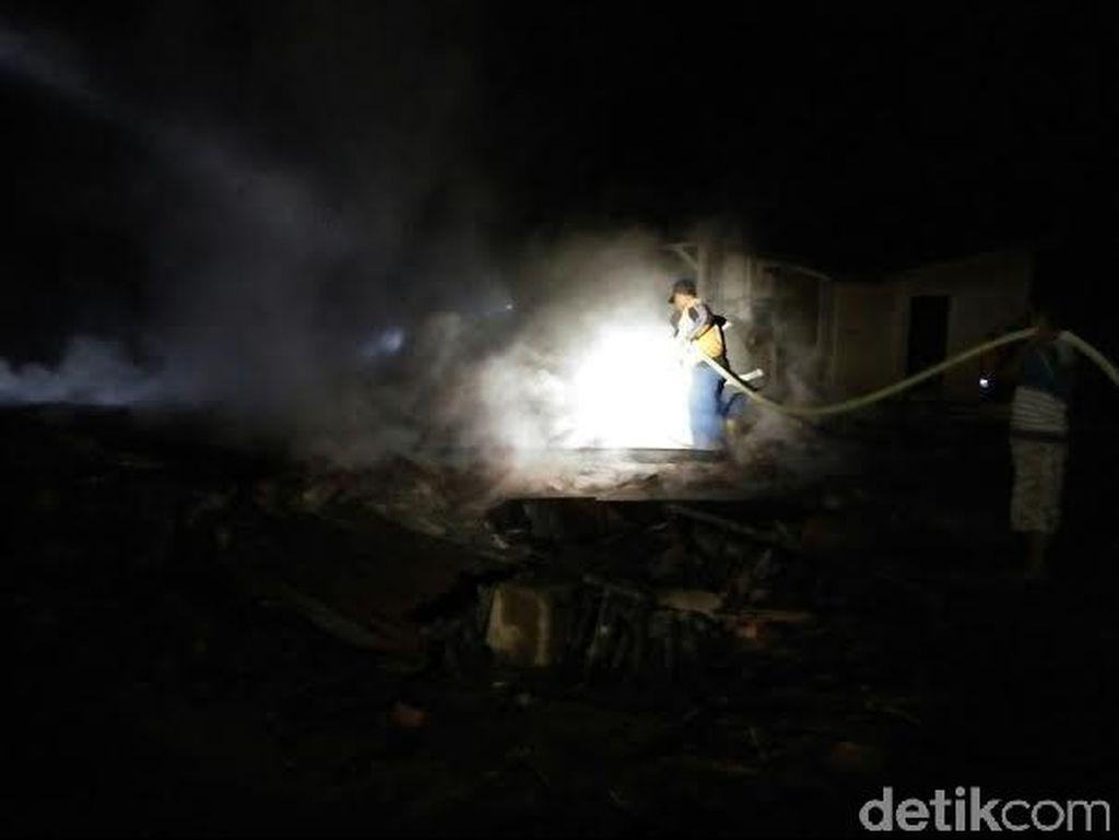 4 Rumah di Banyumas Terbakar Diduga karena Api Tungku