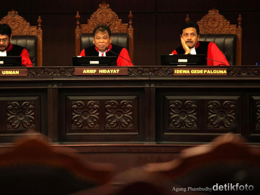 MK Putuskan Larangan Politik Dinasti Inkonstitusional
