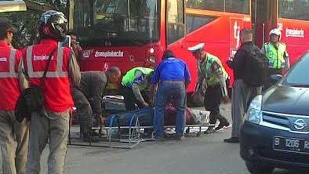 TransJ Sering Tabrakan, Ahok: Busway Tidak Diatur dalam UU Lalin