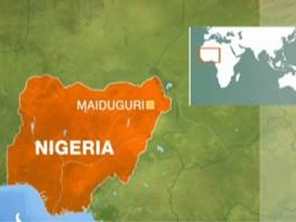 Wanita Pengebom Bunuh Diri Tewaskan 4 Orang di Nigeria