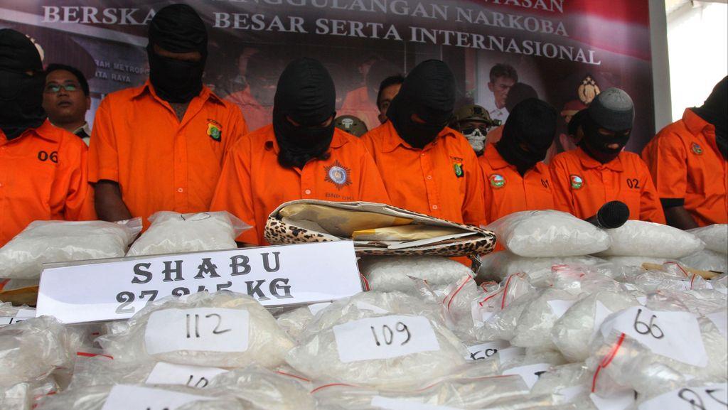 Polresta Pekanbaru Tangkap 2 Bandar Narkoba