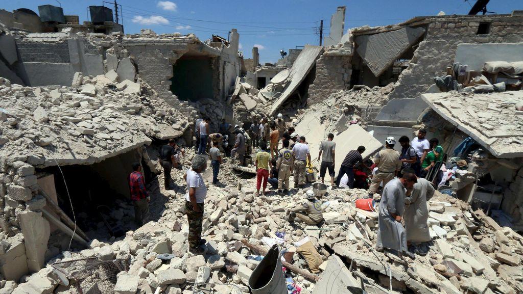 Lebih dari 280 Ribu Orang Tewas Selama 5 Tahun Konflik Suriah