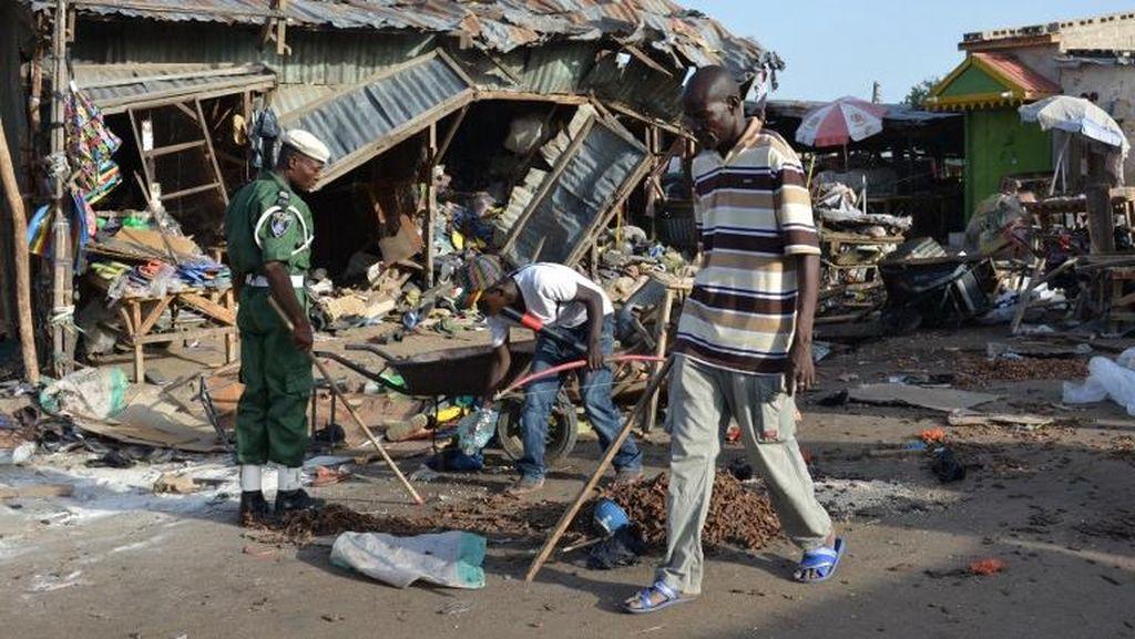 Bom Meledak di Pasar Mingguan Nigeria, 47 Orang Tewas