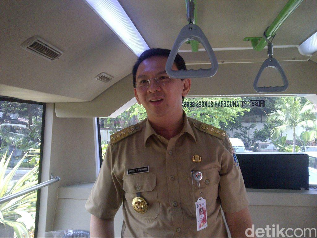 Ahok Berwacana Bangun Rel Kereta untuk LRT Hingga 3 Tingkat