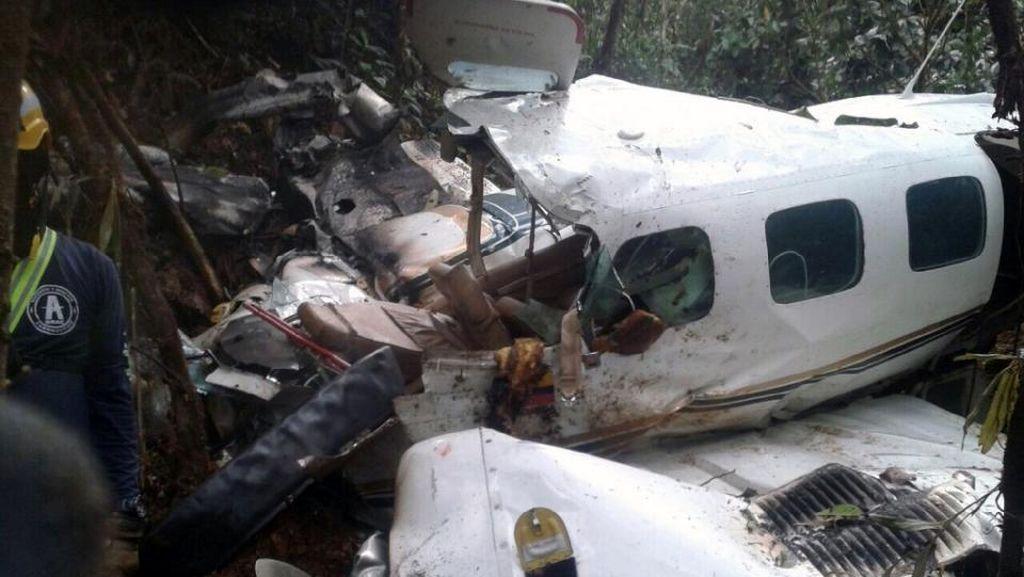 Ibu dan Bayi Selamat dalami Kecelakaan Pesawat di Kolombia