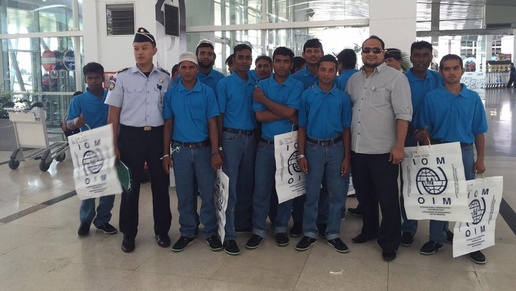 Lagi, 59 Imigran Bangladesh Dideportasi dari Aceh
