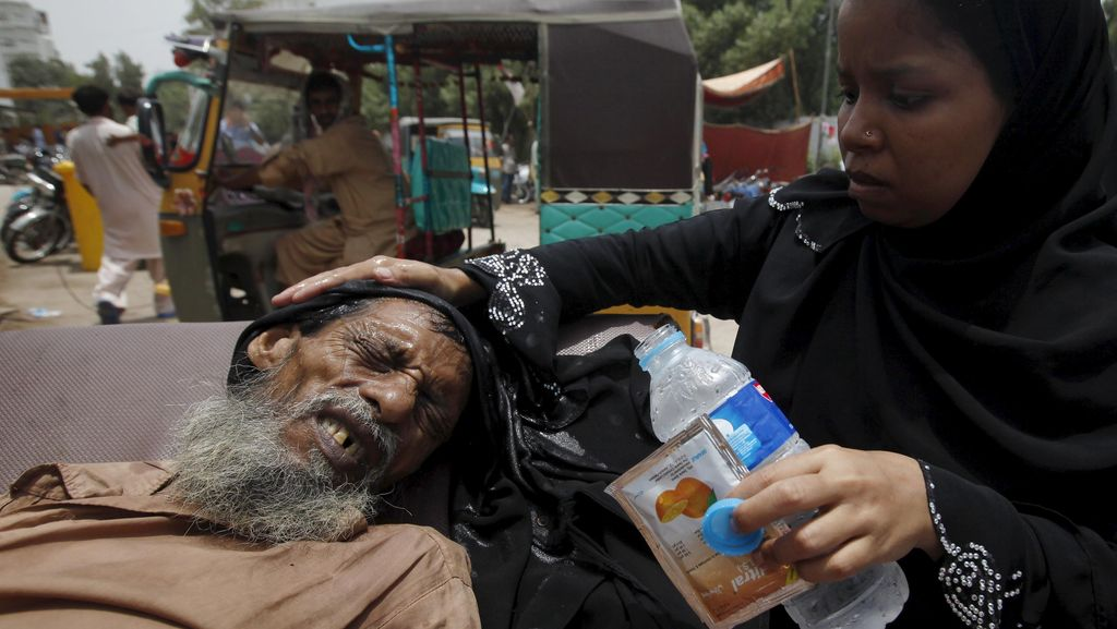 Lebih dari 1.000 Orang Tewas Akibat Gelombang Panas di Pakistan