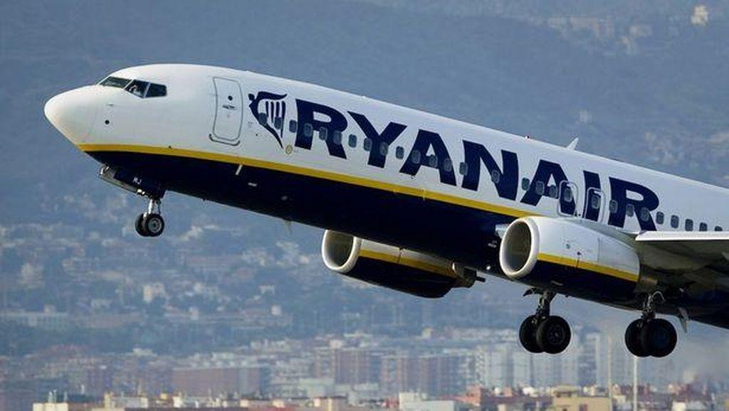 Diduga Ada Bom di Pesawat Ryanair, Ternyata Hanya Ulah Orang Iseng