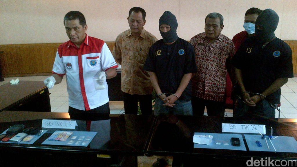 BNNP Jateng Tangkap Tangan Pensiunan Polisi Sedang Transaksi Narkoba