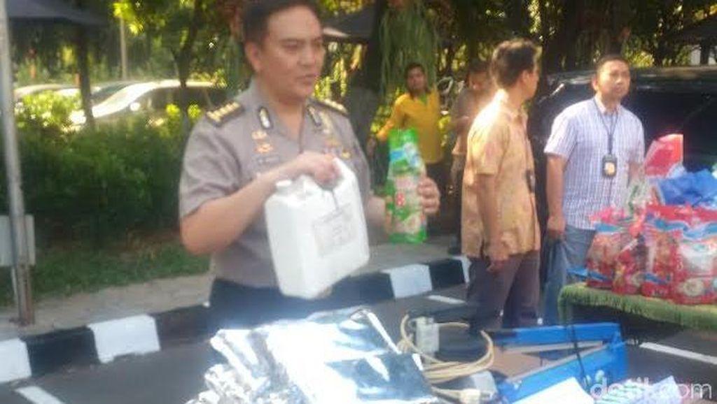 Polisi Sita 50 Ton Beras di Tangerang yang Mengandung Bahan Kimia Berbahaya