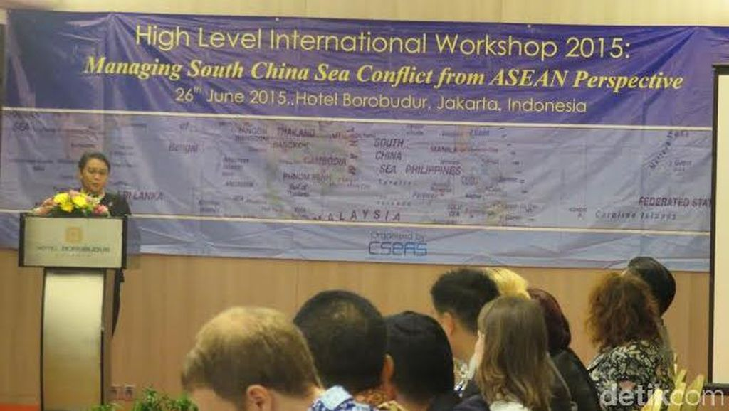 RI Intensif Berkomunikasi Turut Selesaikan Konflik Laut China Selatan