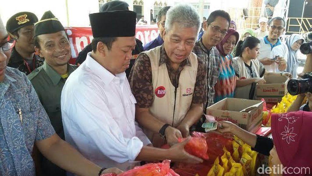 Safari Ramadan, BNP2TKI Gelar Pasar Murah di Cirebon