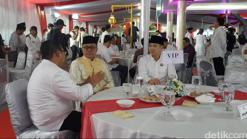 Zulkifli Hasan, Fahri Hamzah dan Said Aqil Hadiri Buka Bareng Partai Perindo