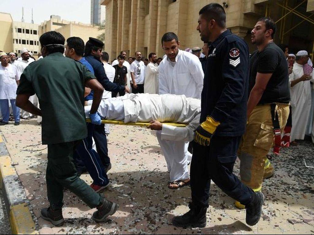 Sopir Pengantar Pengebom Bunuh Diri Masjid Kuwait Ditangkap