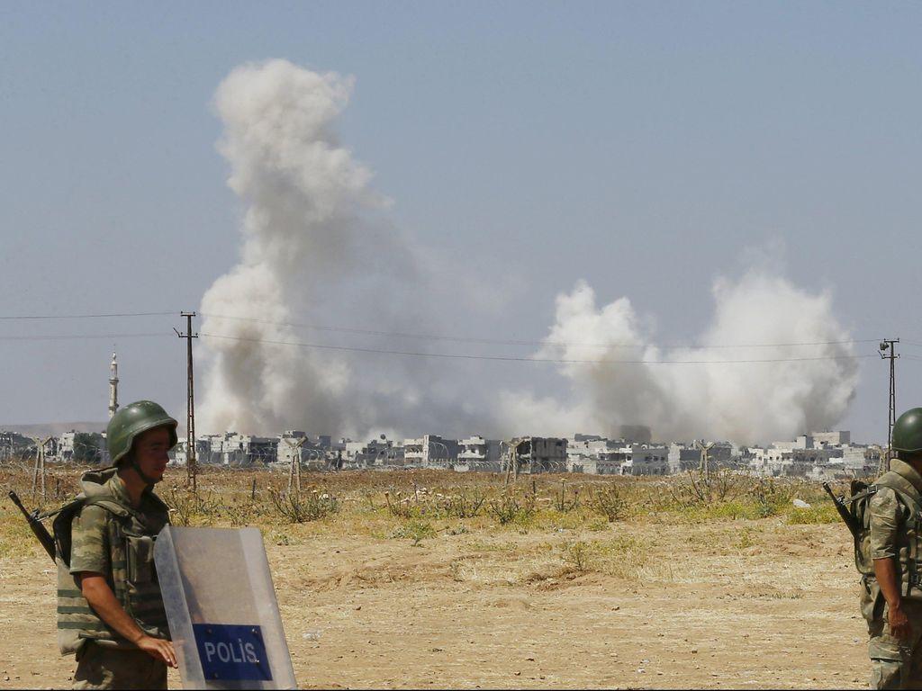 Ledakan di Masjid Suriah Tewaskan 25 Militan Terkait Al-Qaeda