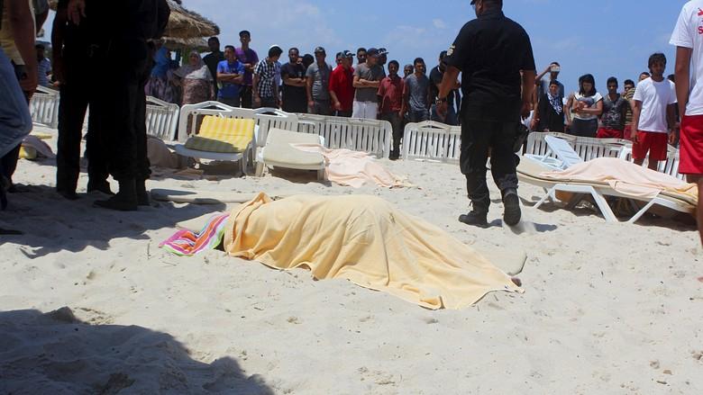 Pembantaian di Tunisia, Jumlah Warga Inggris yang Tewas 30 Orang