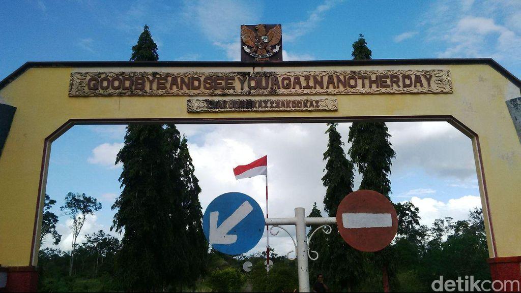 Menengok Taman Perbatasan RI-PNG di Distrik Sota, Merauke