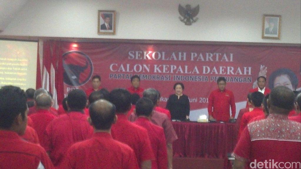 Megawati: Mata Saya Bak Sensor Calon Kepala Daerah Sukses atau Gagal