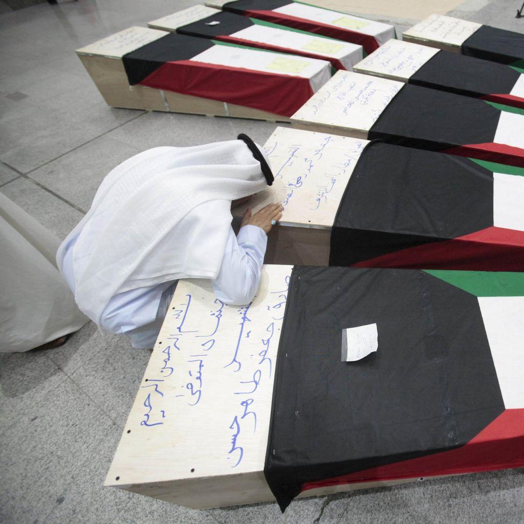 3 Pria Arab Saudi Bersaudara Ditahan Terkait Bom Bunuh Diri Kuwait