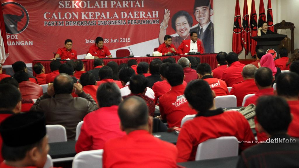 Jokowi Disarankan Bekali Calon Kepala Daerah PDIP